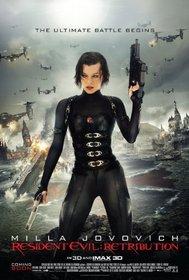 Resident Evil: Retribution (+UltraViolet Digital Copy) [Blu-ray]