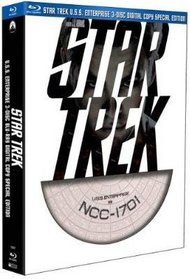 Star Trek (3 Disc Digital Copy Special Edition with Limited Edition U.S.S. Enterprise Packaging) [Blu-ray]