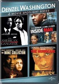 Denzel Washington 4-Movie Spotlight Series