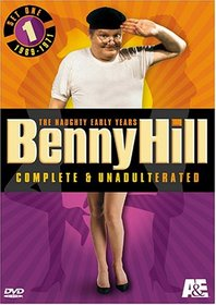 Benny Hill Complete and Unadulterated - The Naughty Early Years, Set One (1969-1971)