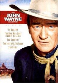 John Wayne DVD Gift Set (The Shootist/ The Sons of Katie Elder/ True Grit/ El Dorado/ The Man Who Shot Liberty Valance)