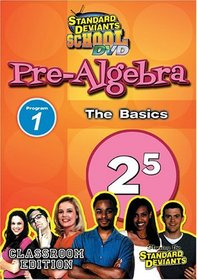 Standard Deviants: Pre-Algebra Module 1 - The Basics