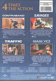 Universal Four Feature Films: Contraband / Savages / Traffic / Miami Vice