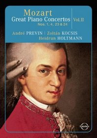 Mozart - Great Piano Concertos, Volume Two / Andre Previn, Zoltan Kocsis, Heidrun Holtmann