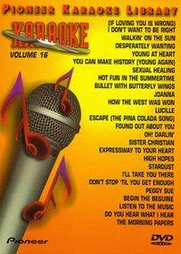 Karaoke / 25 Song Karaoke Library 16