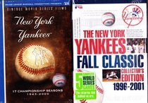MLB Vintage World Series Films - New York Yankees: 17 Championship Seasons 1943-2000 , the New York Yankees Fall Classic Collector's Edition 1996-2001 : Double Box Set 13 DVD SET Over 26 Hours