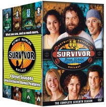 Survivor 4 Pack (Borneo / The Australian Outback / All-Stars / Pearl Islands)