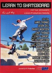 Learn To Skateboard, Part Two - Intermediate