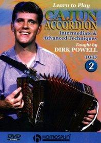 DVD-Learn to Play Cajun Accordion #2