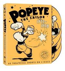 Popeye the Sailor: 1933-1938, Vol. 1