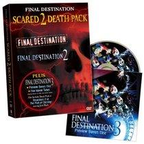 Final Destination Scared 2 Death Pack