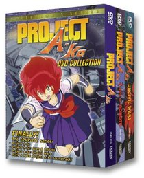 Project A-Ko Collection (Movie/Uncivil Wars/Love & Robots) + CD Soundtrack