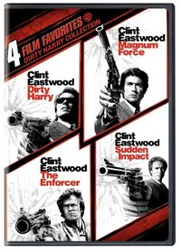 4 Film Favorites: Dirty Harry Collection (Dirty Harry / Magnum Force / The Enforcer / Sudden Impact)
