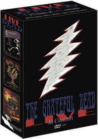 Live Dead - The Grateful Dead in Concert (Downhill from Here, Ticket to New Year's, View from the Vault)