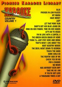 Karaoke / 25 Song Karaoke Library Country 201