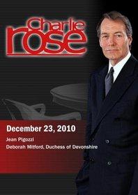Charlie Rose - Jean Pigozzi / Deborah Mitford, Duchess of Devonshire (December 23, 2010)