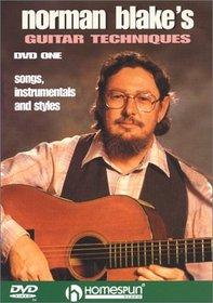 DVD-Norman Blake's Guitar Techniques #1