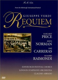 Verdi - Requiem / Margaret Price, Jose Carreras, Jessye Norman, Ruggiero Raimondi, Claudio Abbado, London Symphony Orchestra