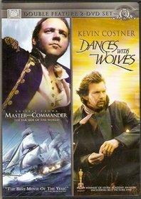 Fox Double Feature Set: Master and Commander The Far Side Of The World and Dancing With Wolves