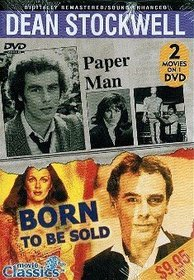 [DVD] Dean Stockwell Double Feature: Paper Man (1971) & Born to Be Sold (1981)