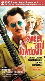 Sweet and Lowdown [VHS]