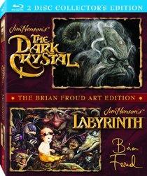 The Dark Crystal / Labyrinth (The Brian Froud Art Edition) [Blu-ray]