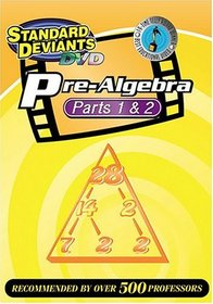 The Standard Deviants - Pre-Algebra 2-pack