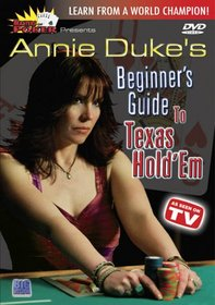 Masters of Poker: Annie Duke's Beginner's Guide to Texas Hold'em