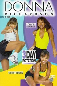 Donna Richardson: 3-Day Rotation 2000