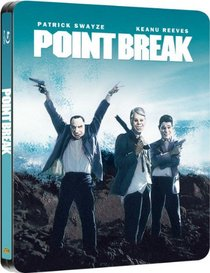 Point Break Limited Edition Steelbook [Blu-ray] [Region Free]