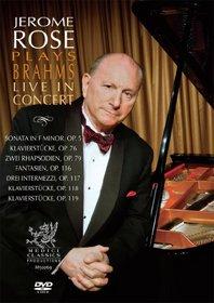 Jerome Rose Plays Brahms Live in Concert