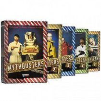 Mythbusters Complete Seasons 1 2 3 4 5 (One Two Three Four Five)