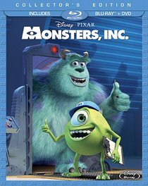 Monsters, Inc. (Three-Disc Collector's Edition: Blu-ray/DVD Combo in Blu-ray Packaging)