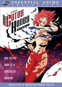 Cutey Honey - Essential Anime Collection (Vols. 1 & 2)