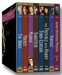The Alfred Hitchcock Collection: The Best of Hitchcock, Vol. 2 (Vertigo / The Birds / The Trouble with Harry / Frenzy / Marnie / Saboteur / Torn Curtain / Alfred Hitchcock Presents Vol. 3)