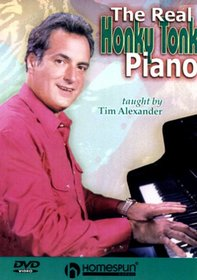 DVD-The Real Honky Tonk Piano