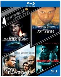 4 Film Fav: Leonardo DiCaprio (BD)(4FF) [Blu-ray]