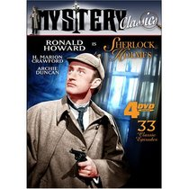 Mystery Classics V.5: Sherlock Holmes (4-DVD Pack)