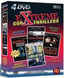 Extreme Cop Thrillers: Black Cobra/Maniac Cop/The Versace Murder/Midnight Cop