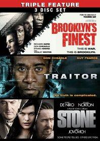 Brooklyn's Finest / Traitor / Stone (Three-Pack)