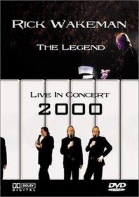 Rick Wakeman - The Legend (Live in Concert 2000) (DVD + CD)