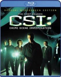 CSI: Crime Scene Investigation: The Complete First Season [Blu-ray]