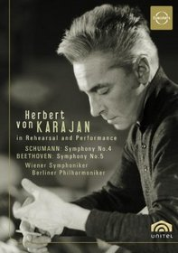 Herbert von Karajan in Rehearsal and Performance