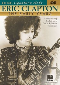 Hal Leonard Eric Clapton - The Early Years (DVD)