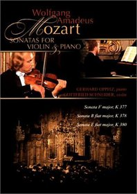 Mozart - Sonatas for Violin and Piano / Schneider, Oppitz