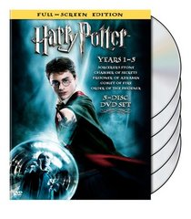 Harry Potter Years 1-5 (Full-Screen Edition)
