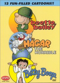 Beetle Bailey & Betty Boop & Hagar