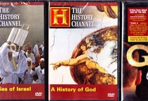 The History Channel Christianity Collection : A History of God , God or the Girl , the Prophecies of Israel : Total 3 DVD BOX SET - 4 Discs