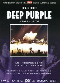Inside Deep Purple 1969-1976 a Critical Review (With Book) (2pc)