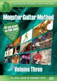 Monster Guitar Method, Vol. 3